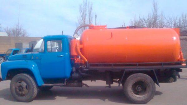 ГАЗ 53 аренда ассенизатор