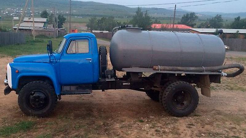 фото ассенизатор ГАЗ 53