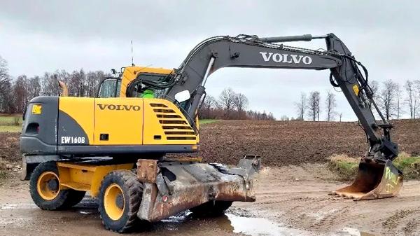отзывы экскаватор Volvo EW160B