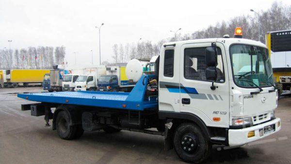 фото эвакуатор Hyundai HD 120 7 тонн