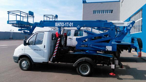 ВИПО-12-01 на базовом шасси ГАЗ-3302 Газель