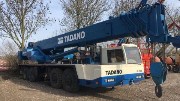 фото автокран до 90 тонн TADANO