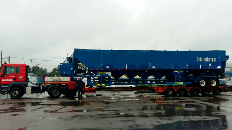 фото тnралл 65 тонн полуприцеп