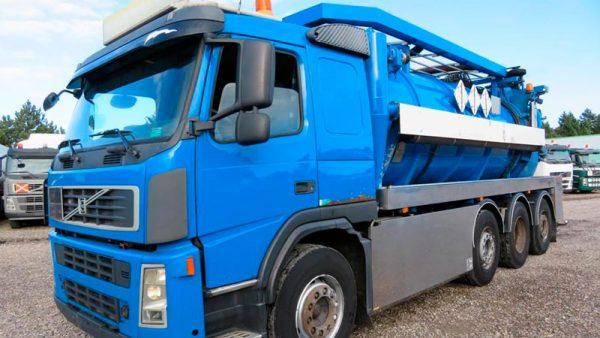 фото илосос Volvo FM400