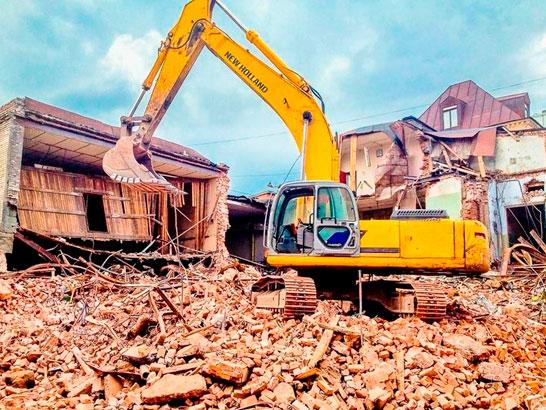демонтаж здание киев