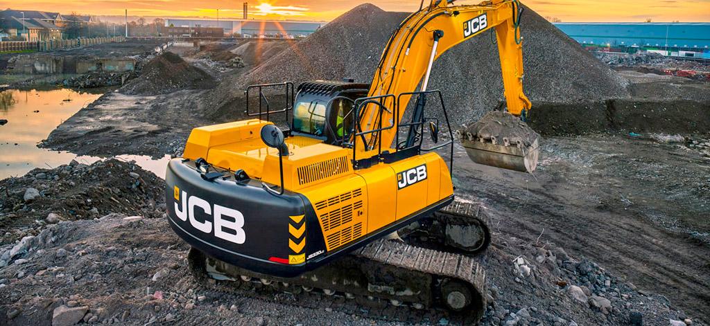 экскаватор JCB 330