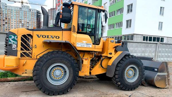 услуги колесного погрузчика Volvo L70H