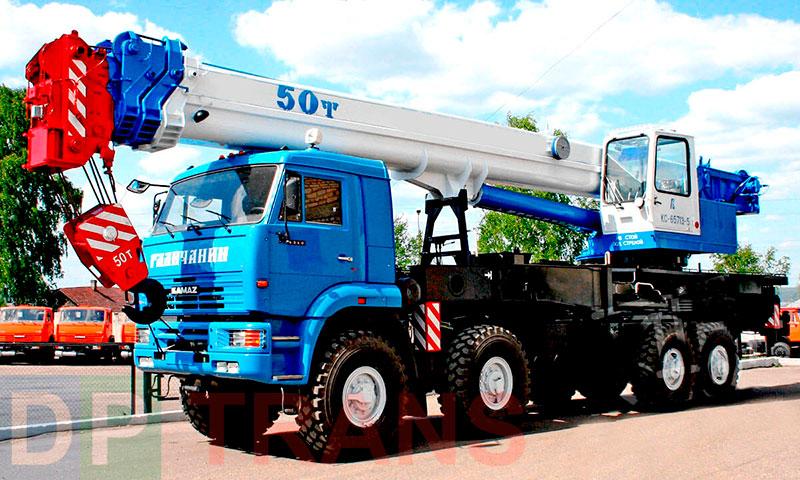 аренда автокрана Мариуполь 50 тонн