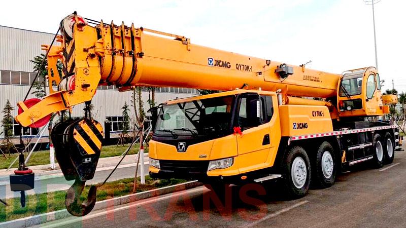 xcmg кран 70 тонн нанять