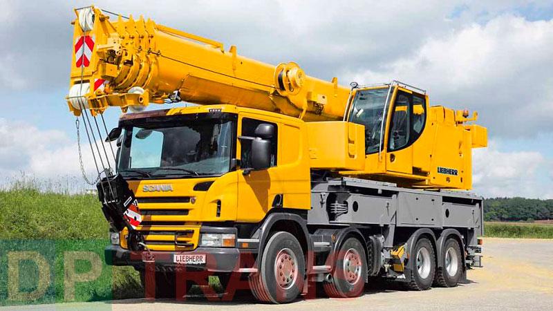 аренда Scania 60 тонн