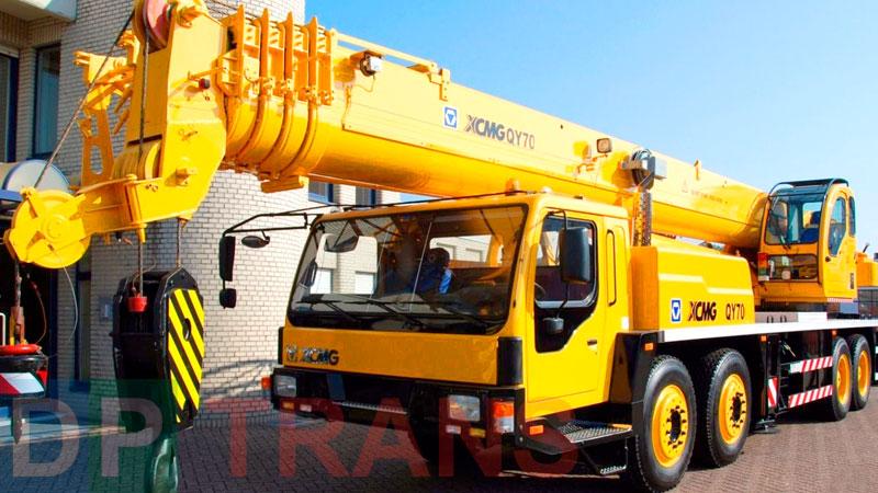 услуги Xcmg 70 тонн